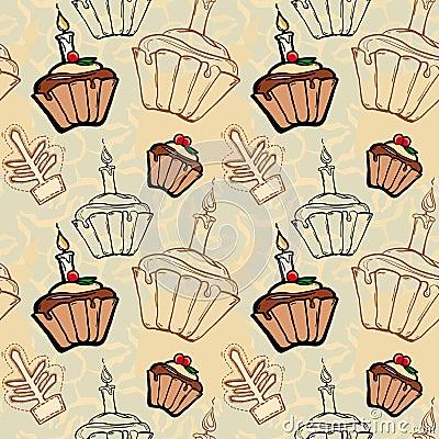 Festive Christmas fruitcakes