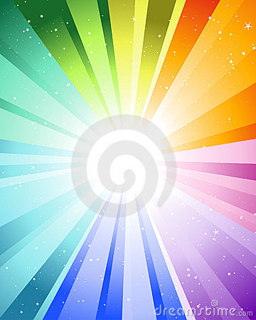Free Festive Color Rays Royalty Free Stock Image - 11358806