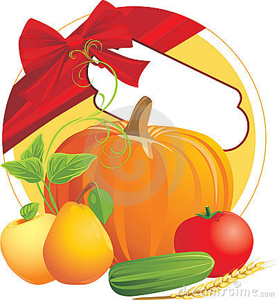 Festive composition to the thanksgiving day