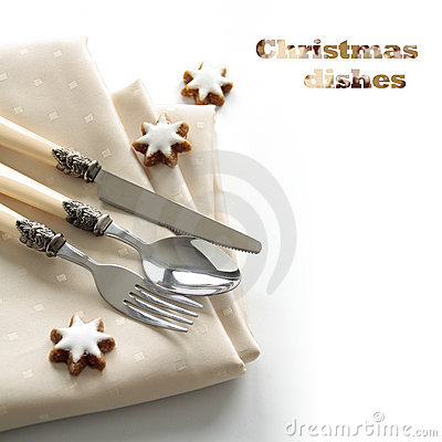Festive cutlery set