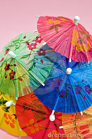 Free Festive Drink Umbrellas Stock Photo - 2426980