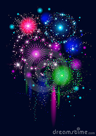 Festive firework