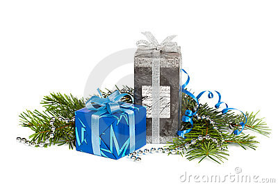 Festive gift boxes