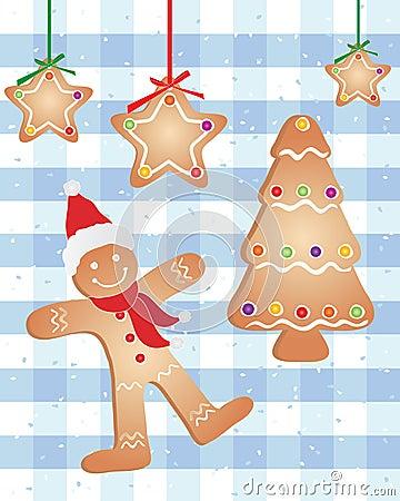 Festive gingerbread