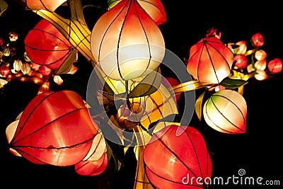 Festive lanterns