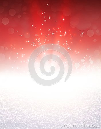 Free Festive Light Explosion On Snow Stock Photography - 101947162