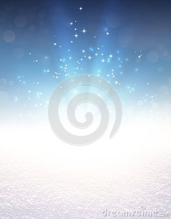 Free Festive Light Explosion On Snow Stock Photos - 101947393