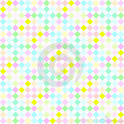 Festive pastel checks pattern