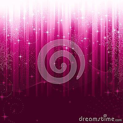 Festive purple striped background