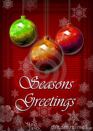 Festive Season Greeting Card