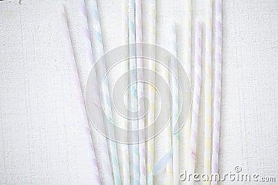 Festive straw
