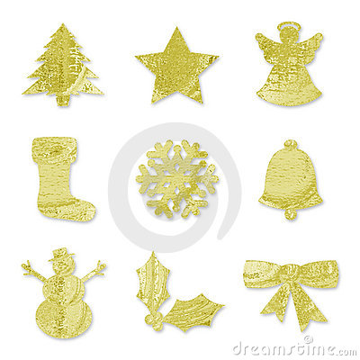 Festive Symbols - Gold
