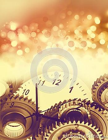 Festive time concept