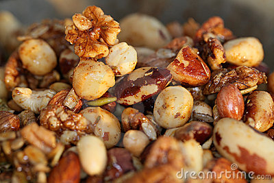 Festive treat - Spicy nuts!