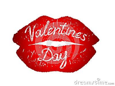 Festive Valentine s Day Kiss