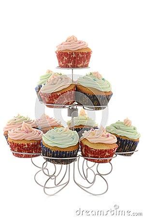Festliche kleine Kuchen
