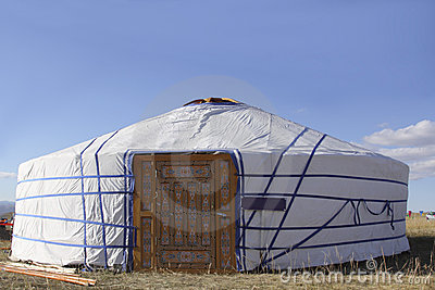 Festlig tent för nomad s