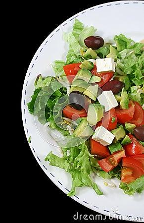 Free Feta Cheese Salad 1 Stock Photos - 2035393