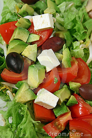 Free Feta Cheese Salad 2 Royalty Free Stock Images - 2035399
