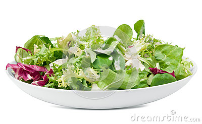 Feta cheese salad and dressing