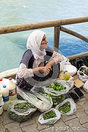 Fethiye Market Editorial Image