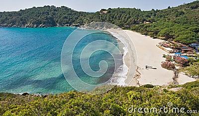 Fetovaia beach, Marina di Campo, Isle of Elba, Ita