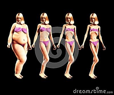 Fett som gör 5 tunnare