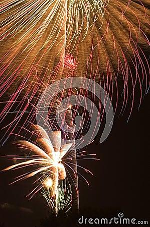 Feuerwerk-Impuls