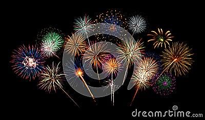 Feuerwerk-Nacht
