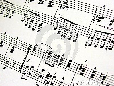 Feuille de musique