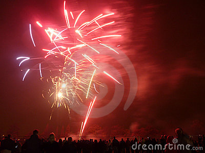 Feux d artifice dans Barkingside