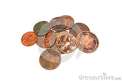 Few ancient coins