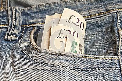 Few British pounds