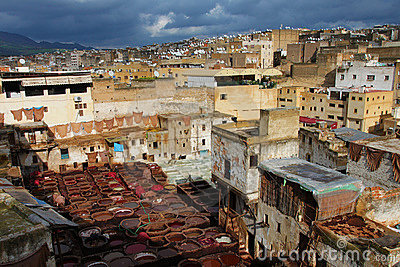 Fez, royal city in Morocco