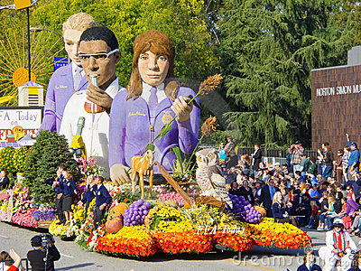 FFA Today Float In The 2010 Rose Bowl Parade Editorial ...