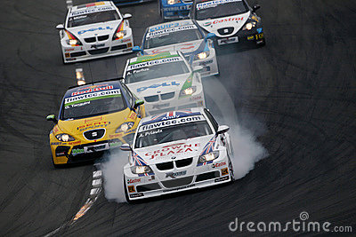 FIA WTCC race Editorial Stock Image