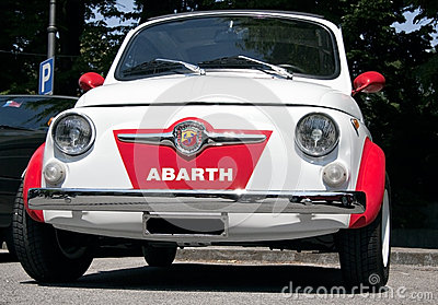 Fiat 500 abarth Editorial Image