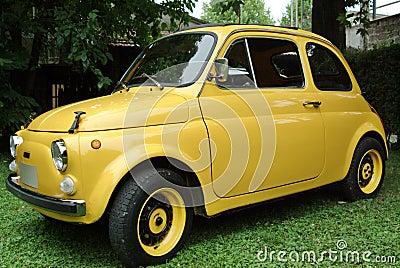 Fiat 500 italian car