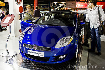 Fiat Bravo - 5 Door Hatch - MPH Editorial Photography