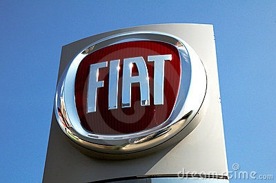 Fiat logo Editorial Photography