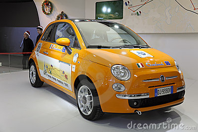 FIAT500 Editorial Stock Image