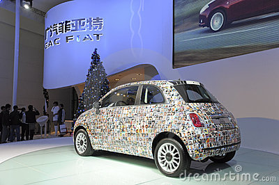 FIAT500 Editorial Stock Photo
