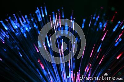 Fiber optics toy