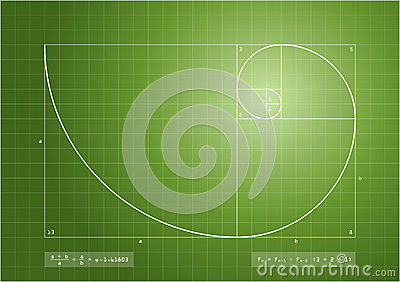 Fibonacci Sequence - Golden Spiral