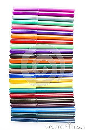 Fibre-tip art pens