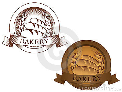 Fictional bakery logo