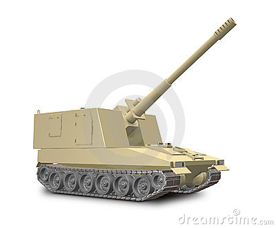 a fictional self-propelled artillery