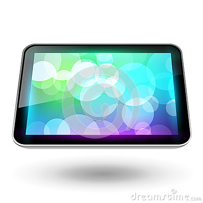 Fictitious touch tablet 6