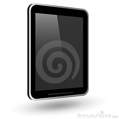 Fictitious touch tablet PC