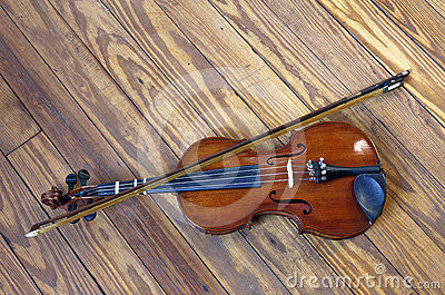 Fiddle on a Dance Floor